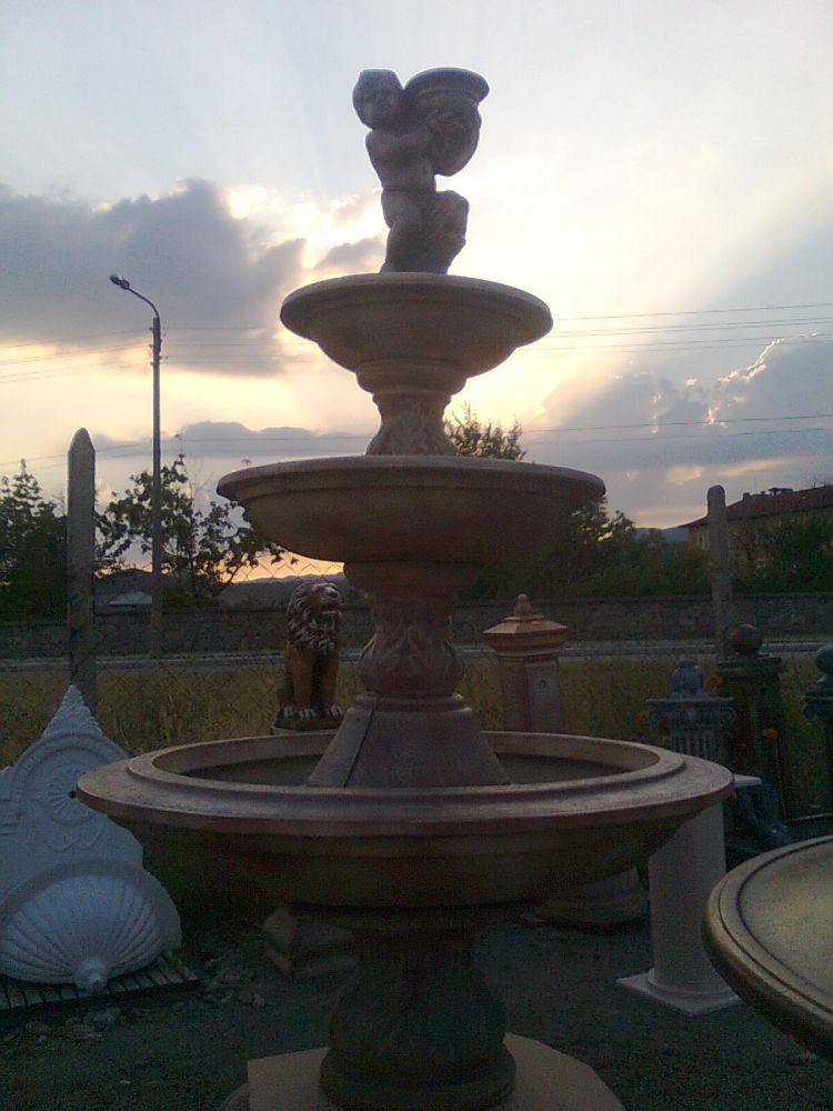 фонтан 3-нива бетон    Ф160 см.