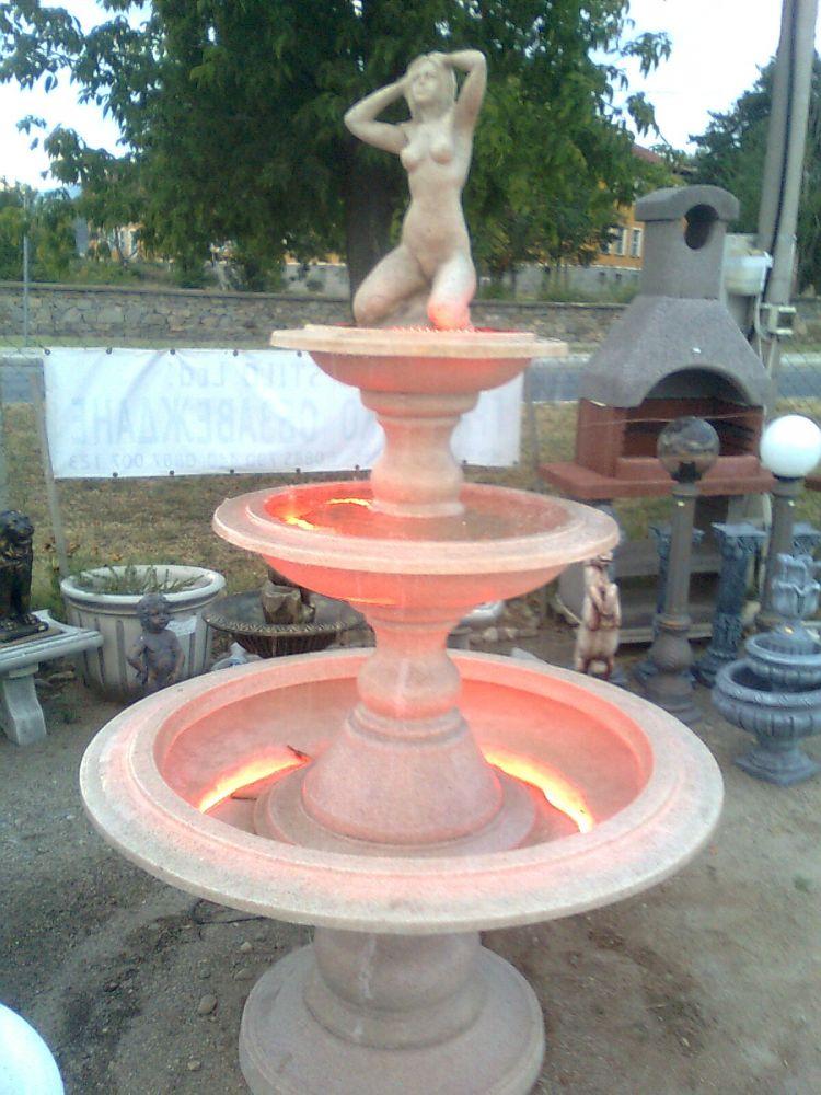 фонтан 3-нива стъклопласт