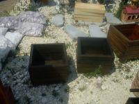 дървена кашпа